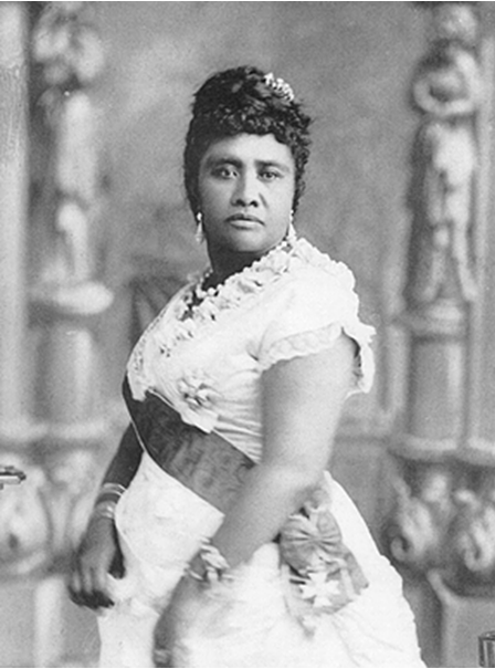 Queen Lydia Kamakaeha Liliuokalani, the last ruling Monarch of the Kingdom of Hawai'i