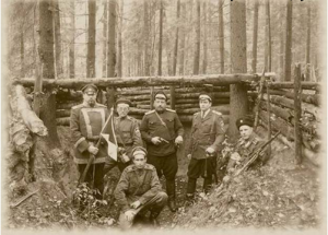 Officers from the Northwest Army in Estonia - 1918