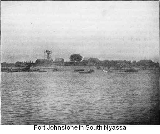 Fort Johnstone in South Nyassa