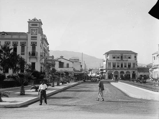 Main boulevard in Alexandretta (late 1930's)