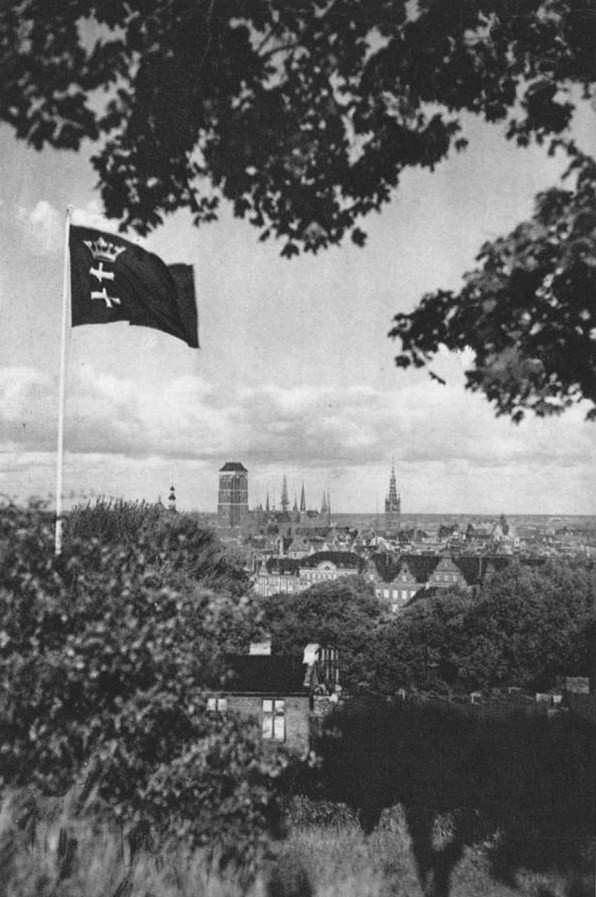 Danzig Flag and City