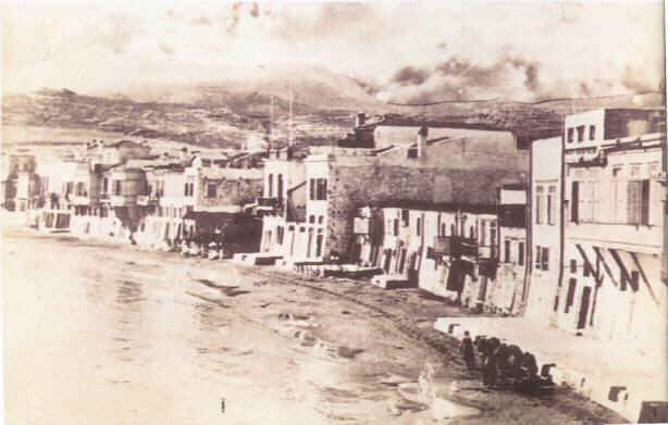 The Beach at Rethymno in 1905