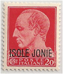 AEG - Ionian Islands, Ital Occ - ww2 Stamp Image