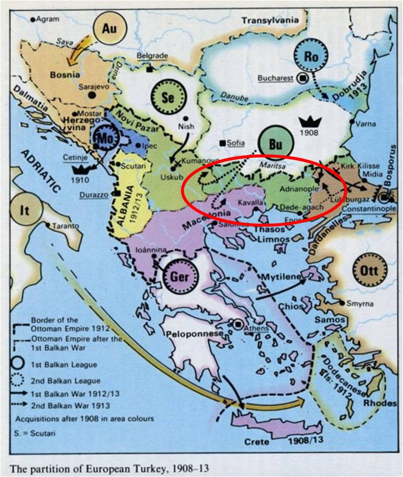 BLK - Western Thrace Map