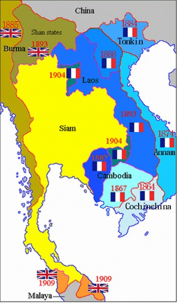 FE - French Indochina Map