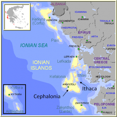 Cephalonia and Ithaca Italian Occupation in WW2 1941 Dead