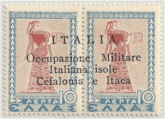 AEG - Cephalonia and Ithaca Stamp