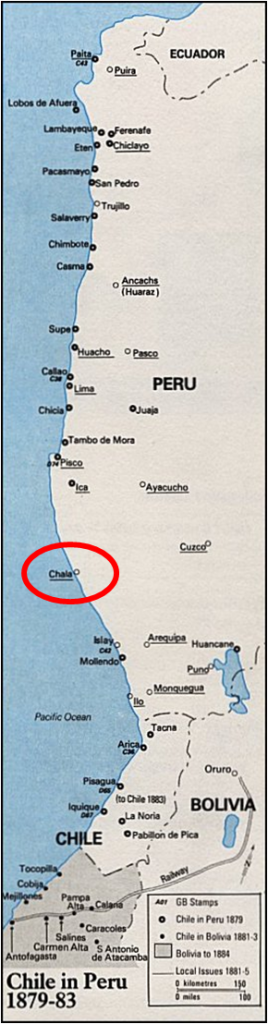 SAM - Chala, Chilean Occupation Map