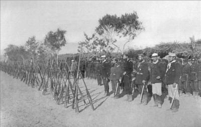 Chilean Army preparing to invade Lima - Jan 1881