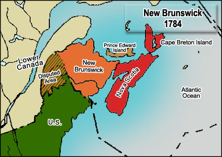 CAN - Prince Edward Island Map