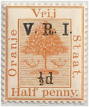 SAF - Orange Free State, British Occ Stamp