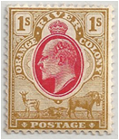 SAF - Orange River Colony Stamp