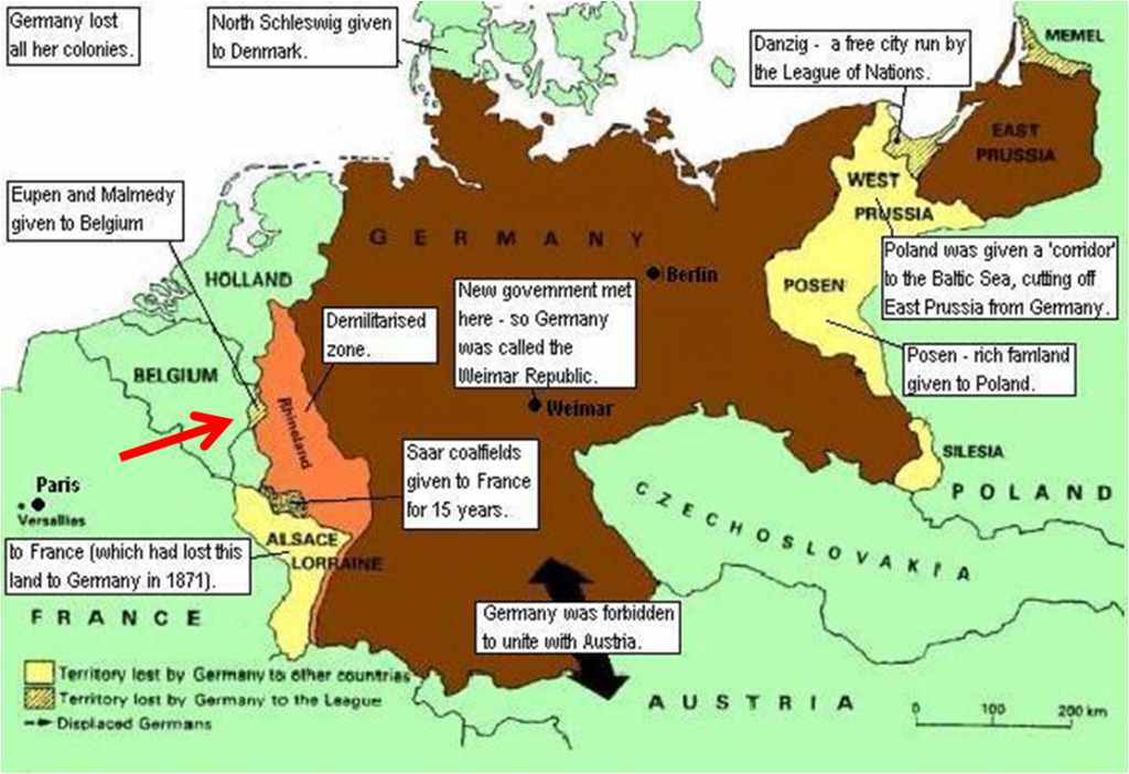an analysis of the treaty of versailles before world war ii This contributed to world war ii because germany began to revolt back at this moment they felt humiliated because of how they have been treated throughout this treaty of versailles hitler stepped up to the plate giving germany hope and a purpose to bring there true colors out the germans felt .