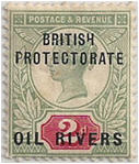 MAF - Oil Rivers Stamp