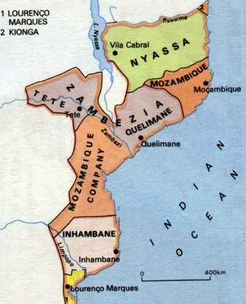 SAF - Mozambique Company Map