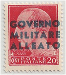 ITA - Naples Allied Occ Stamp
