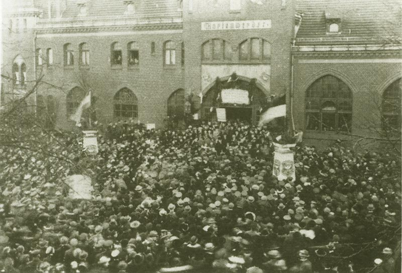 Marienwerder on 11 July, 1920, the day of the plebiscite