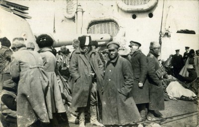 Evacuation of Wrangel's Army from Crimea, Nov 1920