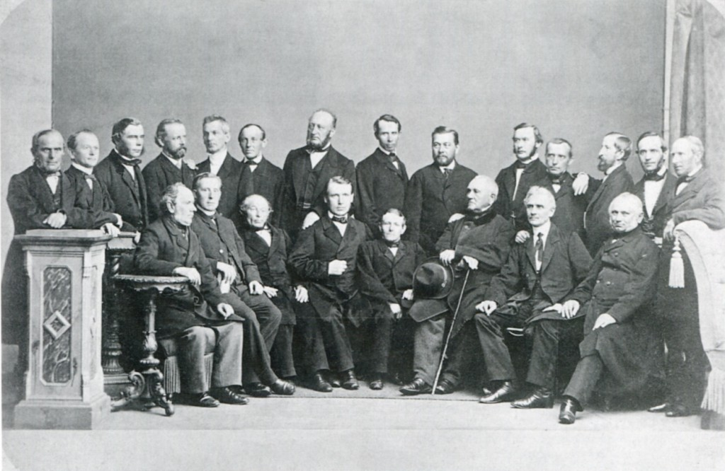 Council of the North German officials in Berlin - Sept 1867