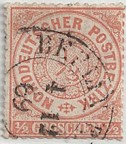 GER - North German Confederation Stamp