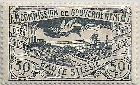 Upper Silesia Stamp