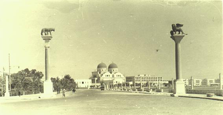 Benghazi Cathedral about 1928