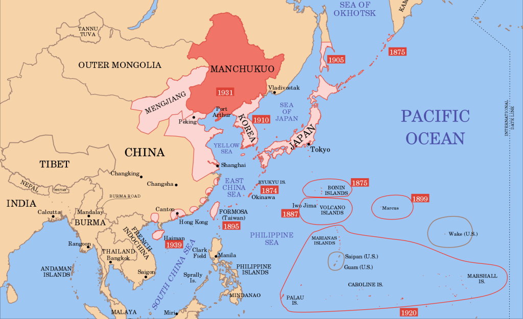 CHI - Manchukuo Map