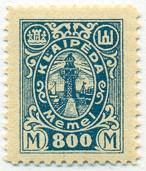 BAL - Klaipeda, Lithuanian Occupation Stamp