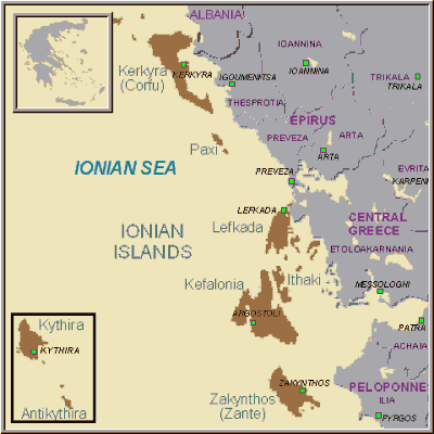 """Image result for the seven Ionian island states under british rule"""""""